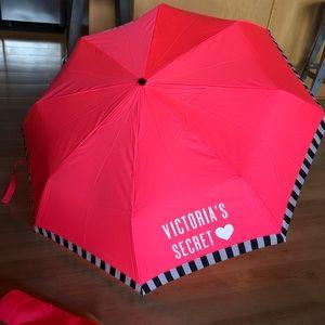 NWOT Victoria's Secret umbrella PINK